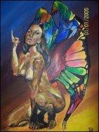 Rainbowed (Boris Vallejo copy)