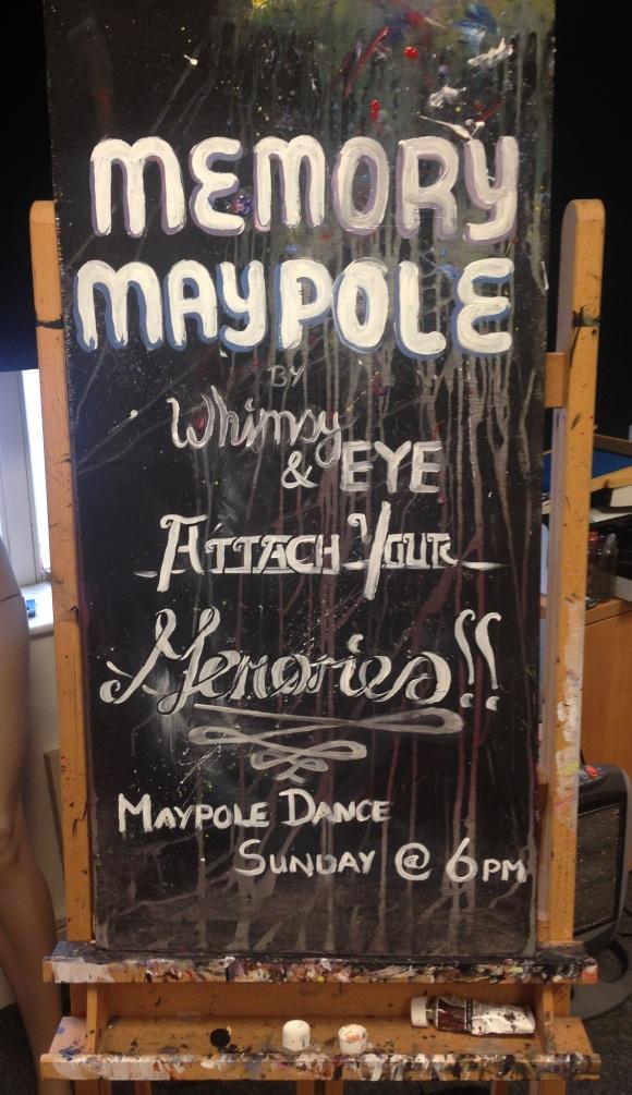 Maypole Sign