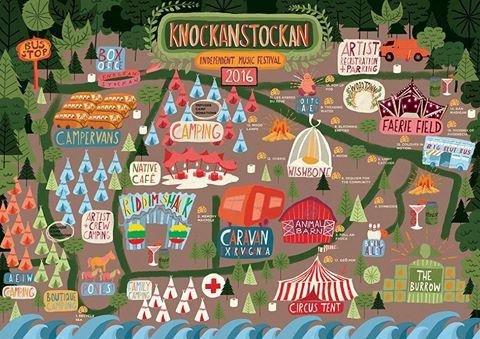 Knockan Map
