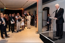 Private view of The Moon exhibition in the Sammy Offer Wing, National Maritime Museum, London. 18th July 2019